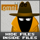 OmniHide: Hide files inside Images, Music & Videos
