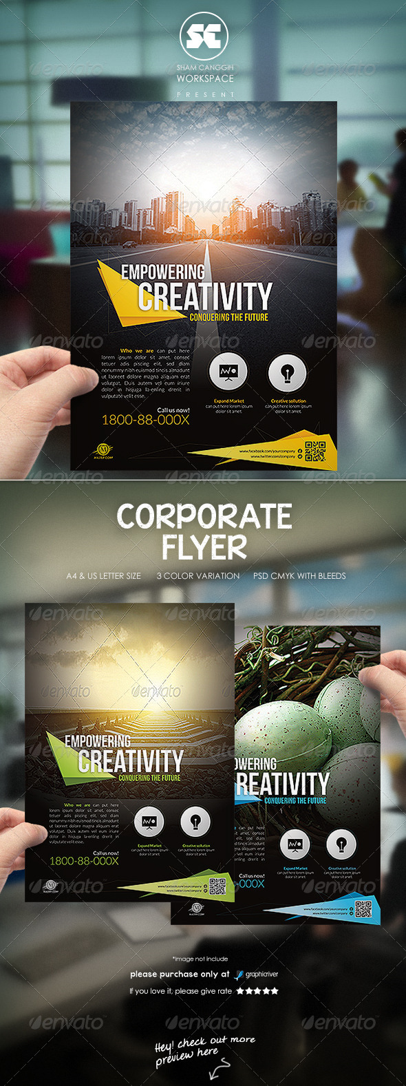 GraphicRiver Clean & Modern Corporate Flyer Magazine Ads 6847480