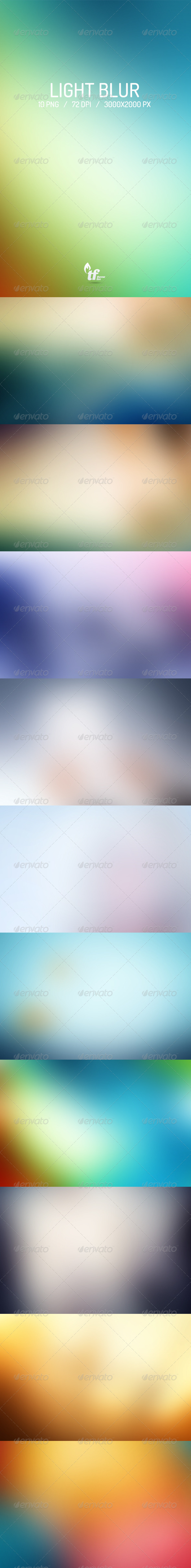 GraphicRiver Light Blur Backgrounds 6847718