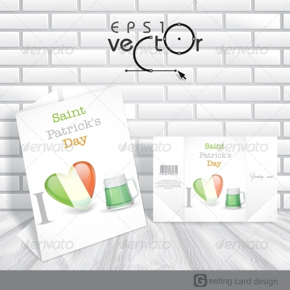 GraphicRiver St Patrick s Day I Love Beer 6847895