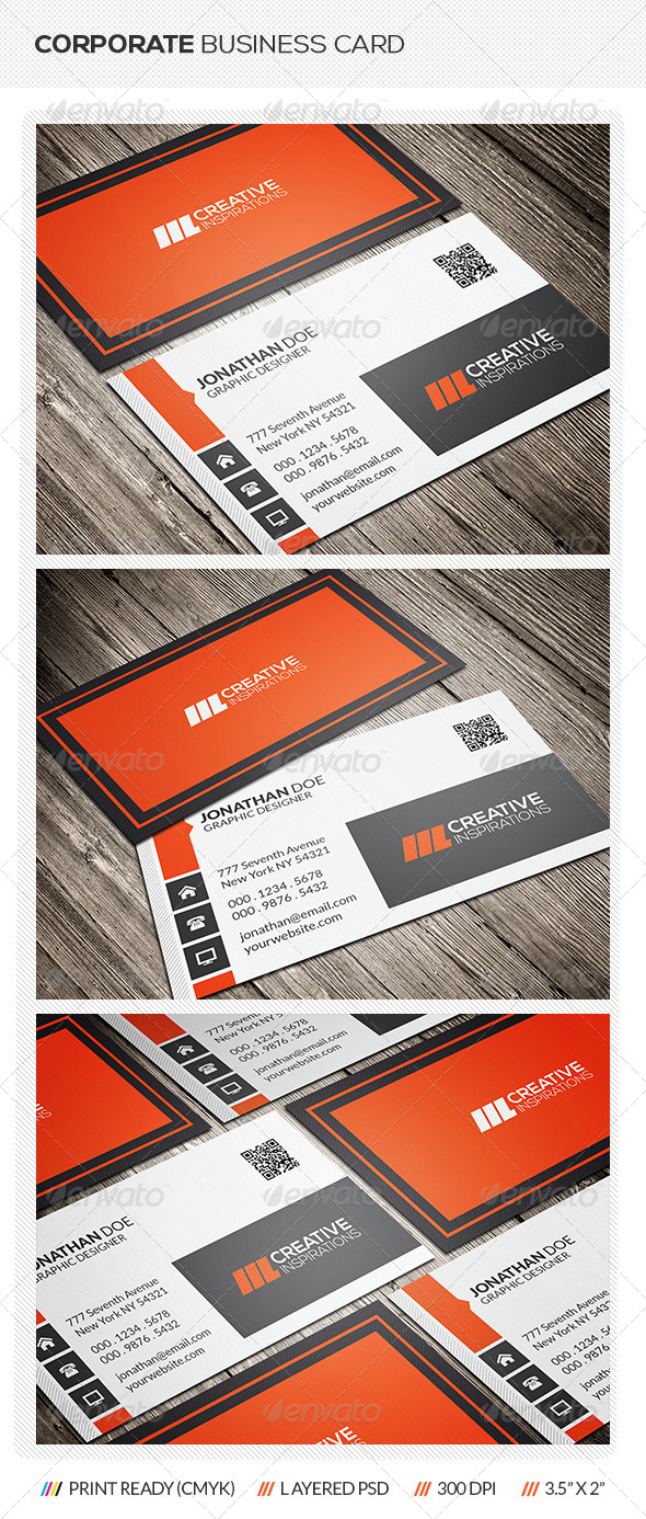 GraphicRiver Corporate Business Card 6847898