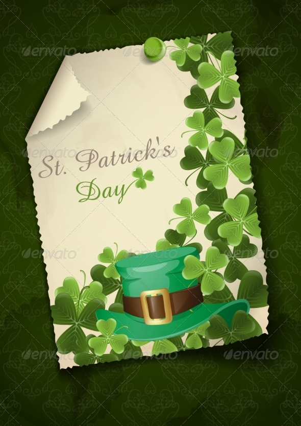 GraphicRiver St Patrick s Day Background 6847913