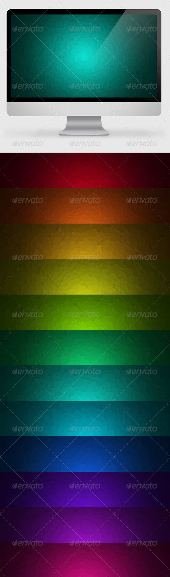 GraphicRiver Abstract Colored Backgrounds Wallpapers 6829132