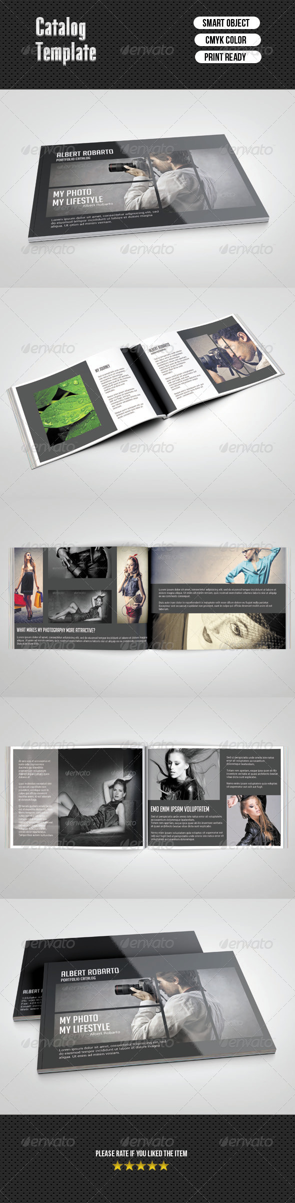GraphicRiver Portfolio Catalog 6848147