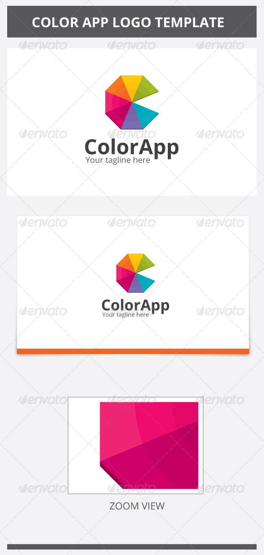 GraphicRiver Color App Logo 6848340