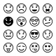 Smiley Faces Set - GraphicRiver Item for Sale