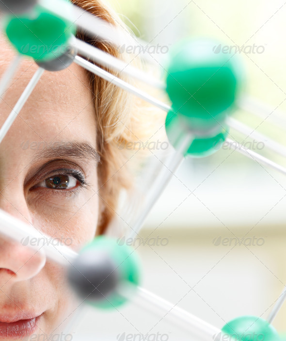 The Eye of a Researcher - Stock Photo - Images