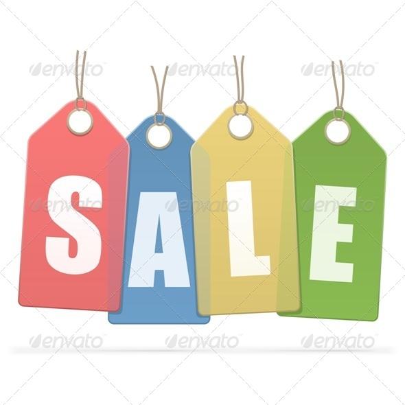 GraphicRiver Vector Sale Labels 6849772