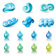 Water Symbols - GraphicRiver Item for Sale