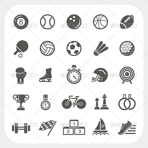 GraphicRiver Sport Icons Set 6850396