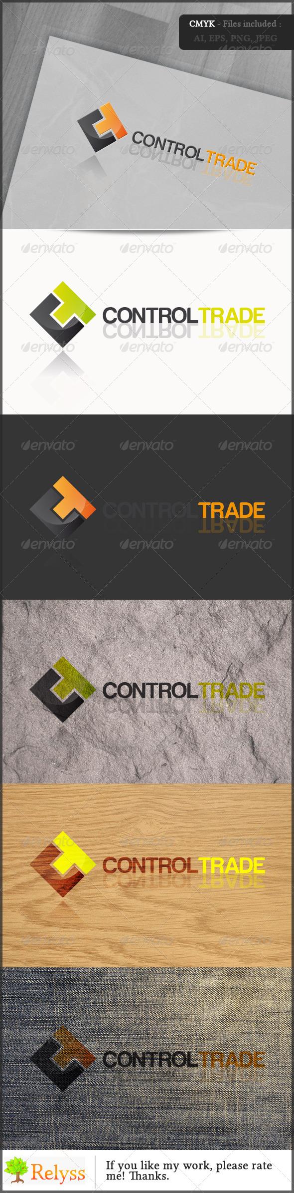 GraphicRiver ControlTrade Logo 6850747
