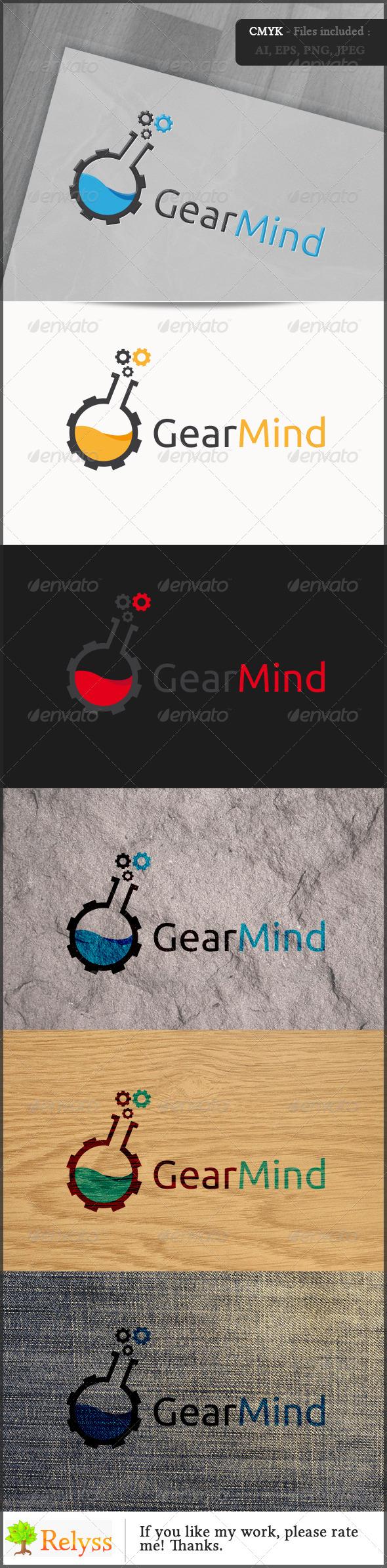 GraphicRiver GearMind Logo 6850796