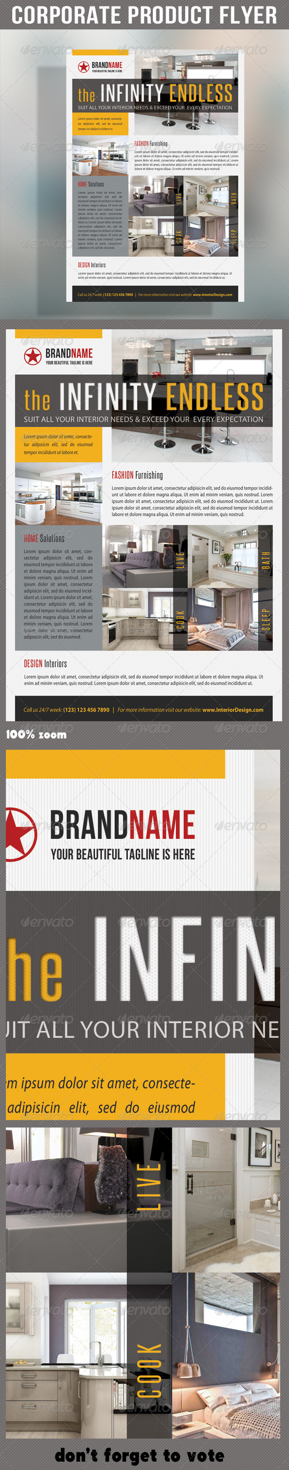 GraphicRiver Corporate Product Flyer 57 6850831
