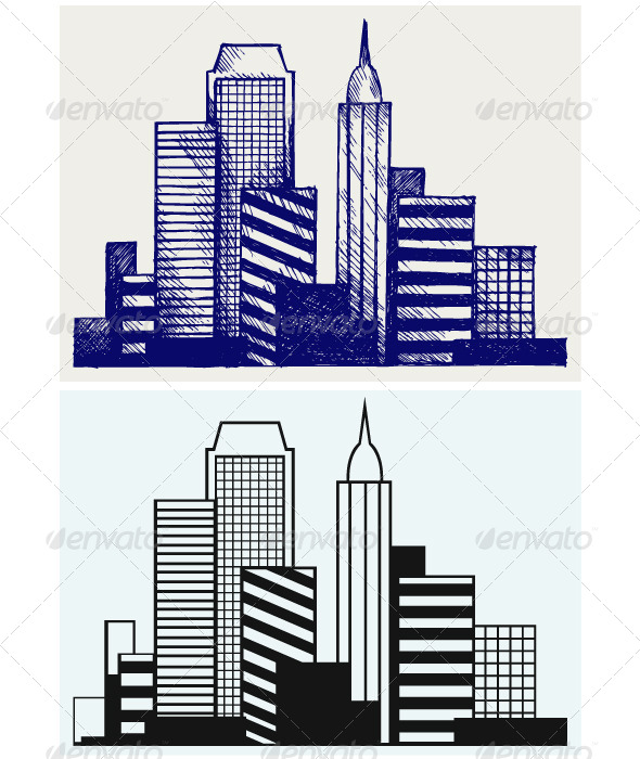 GraphicRiver Urban Cityscape 6850913