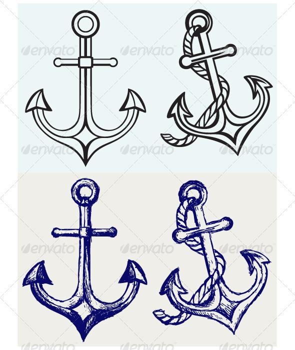 GraphicRiver Anchor Icon 6850995