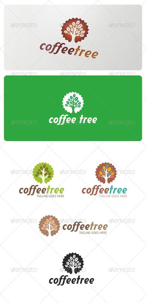 GraphicRiver Coffee Tree Logo 6851084