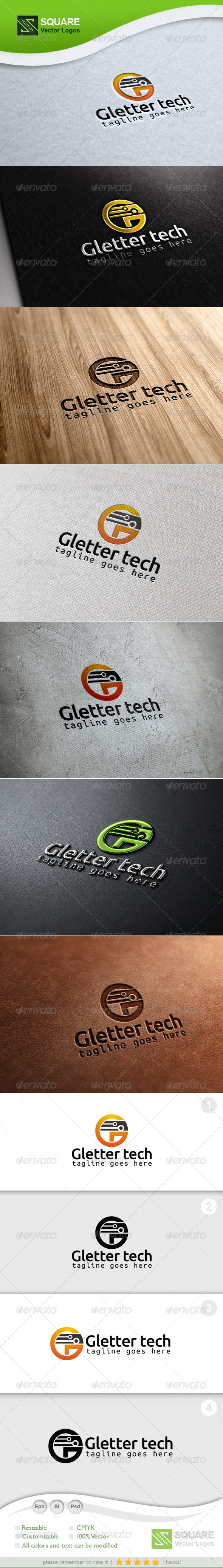G, Technology Vector Logo Template - Letters Logo Templates