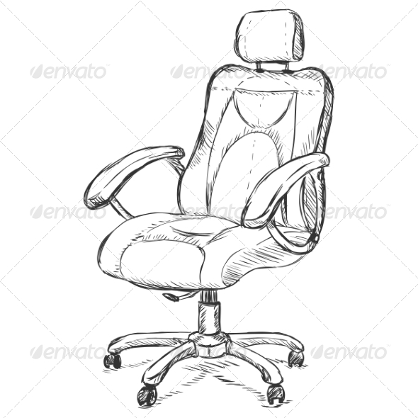 GraphicRiver Office Armchair 6852024