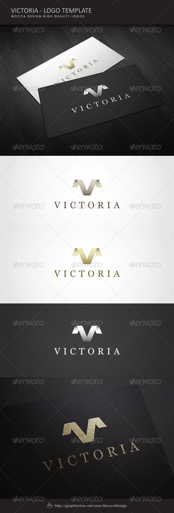 Victoria Exclusive Logo - Letters Logo Templates