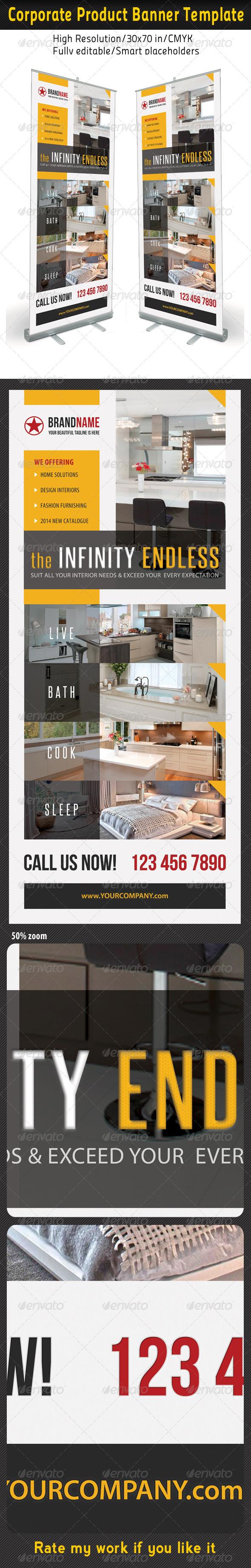 GraphicRiver Corporate Multipurpose Banner Template 38 6852300