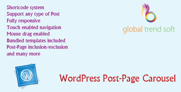 CodeCanyon WordPress Post-Page Carousel 6852430