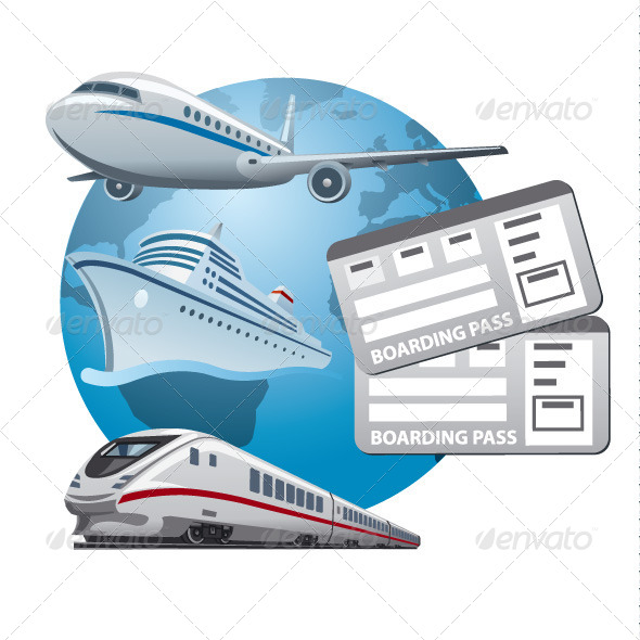 GraphicRiver Travel Tickets 6852706