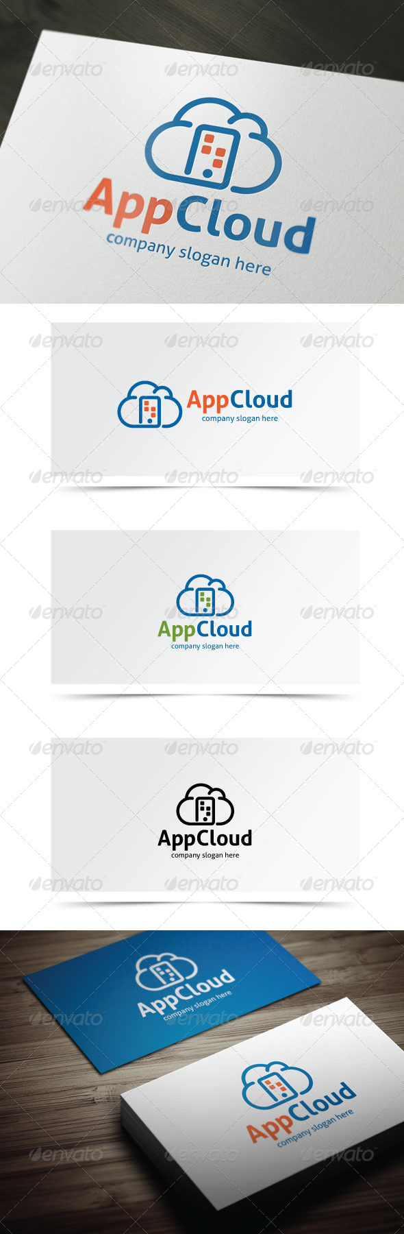 GraphicRiver App Cloud 6852734