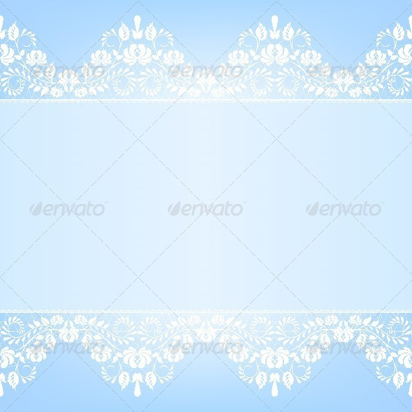 GraphicRiver Lace Fabric Background 6852842