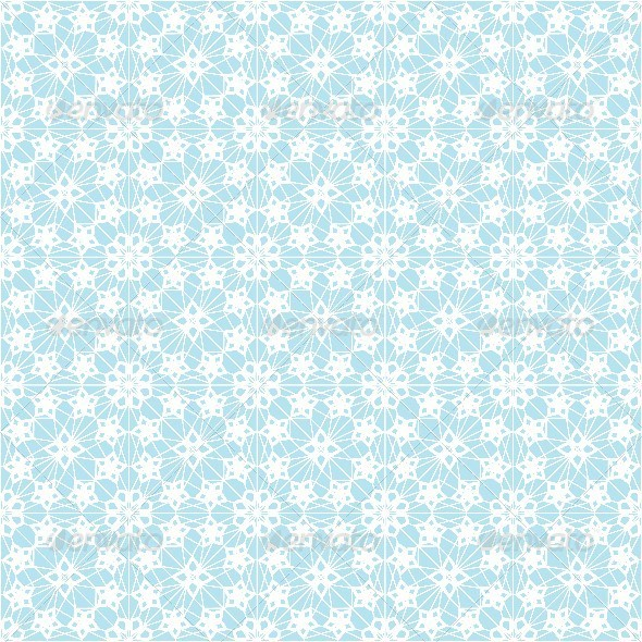 GraphicRiver Seamless Pattern with White Lace 6852913