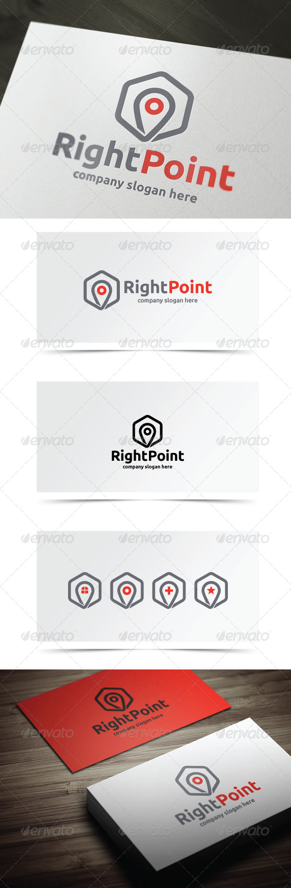 GraphicRiver Right Point 6853113