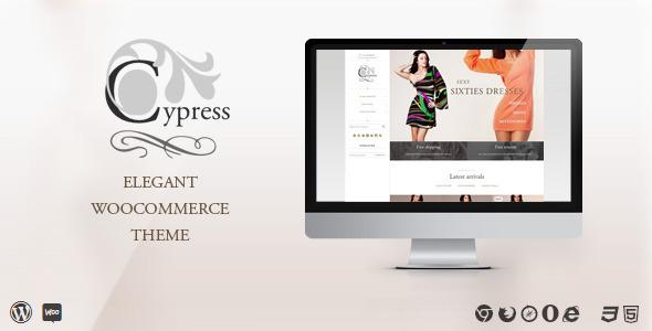 ThemeForest Cypress woocommerce theme 6853198