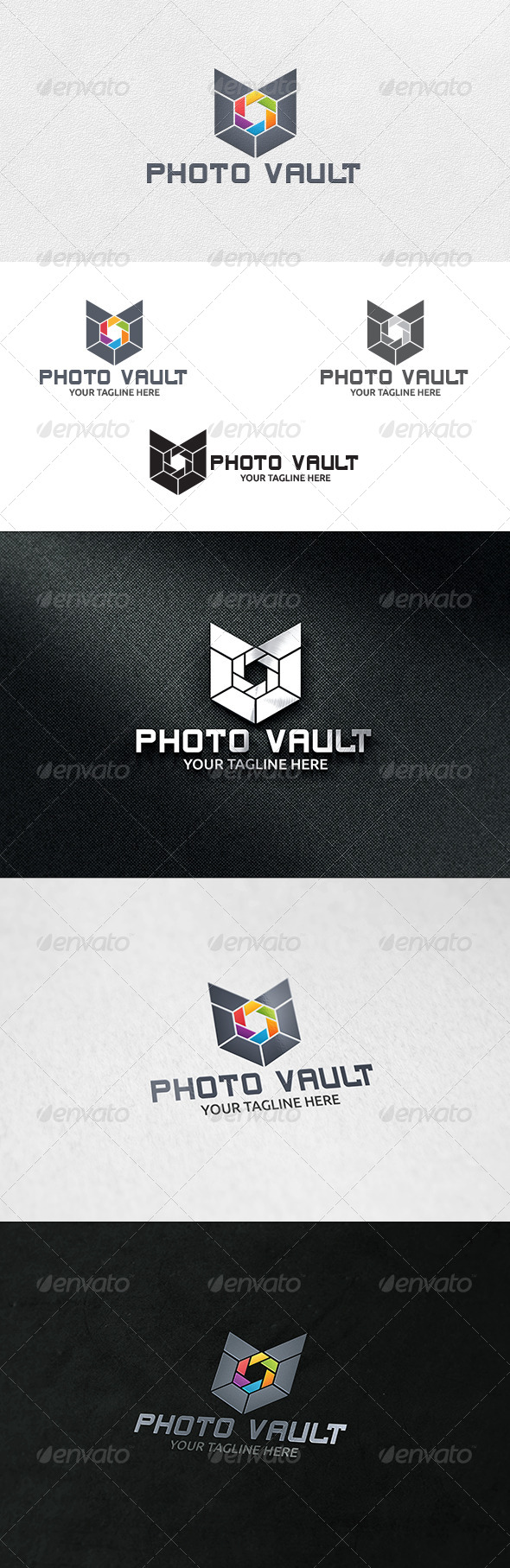 GraphicRiver Photo Vault Logo Template 6853238