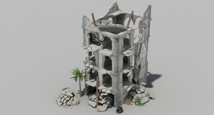 3D Models - Buildings