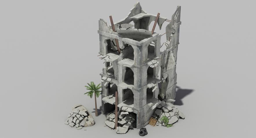 3D Models - Buildings