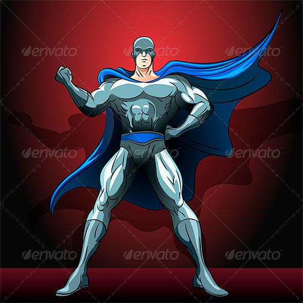 GraphicRiver The Superhero 6854189