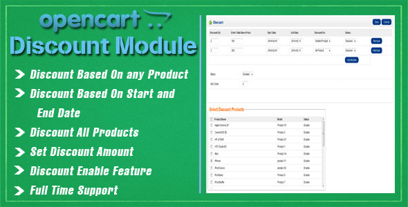 CodeCanyon Opencart Discount Module 6854234