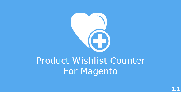CodeCanyon Product Wishlist Counter for Magento 6854343