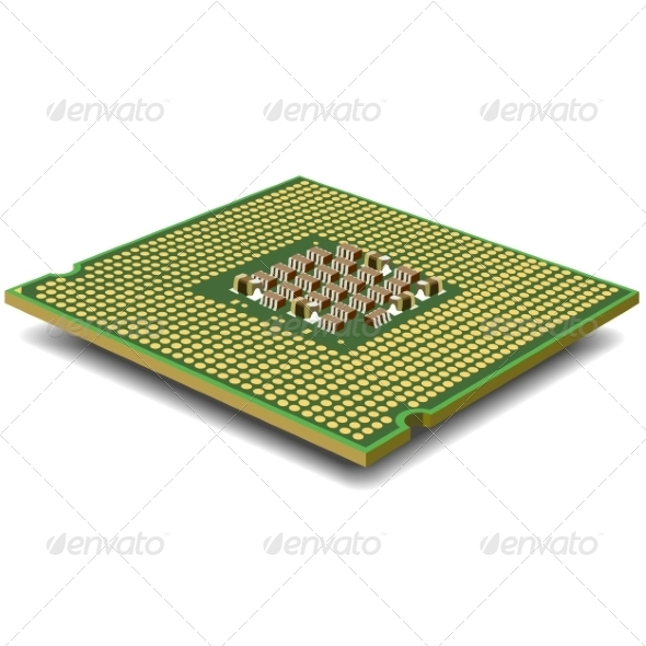 GraphicRiver Computer Micro Processor 6855217
