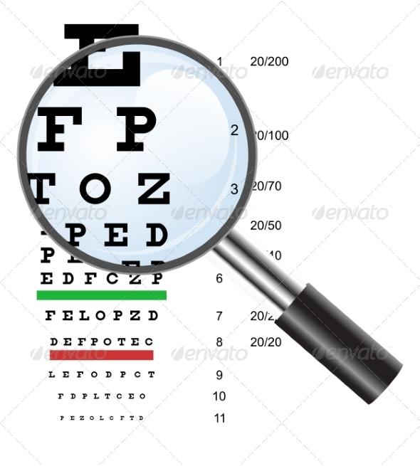 GraphicRiver Eye Test 6855234