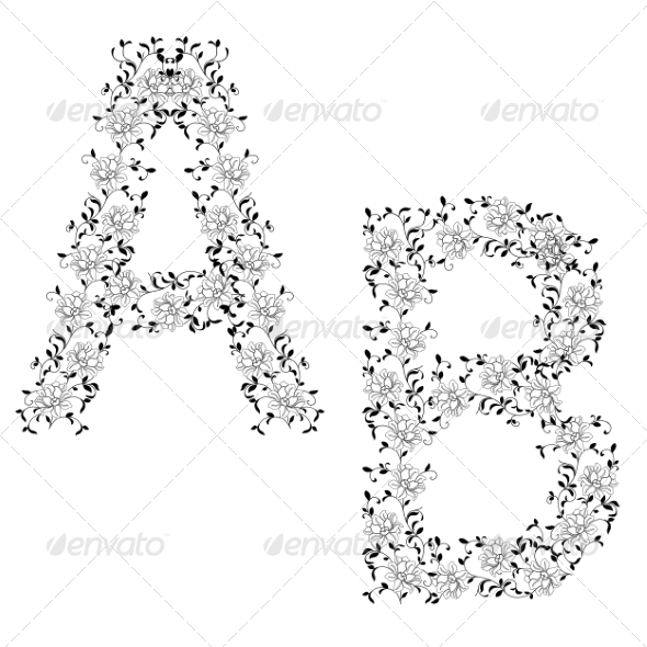 GraphicRiver Ornamental Letters 6855242