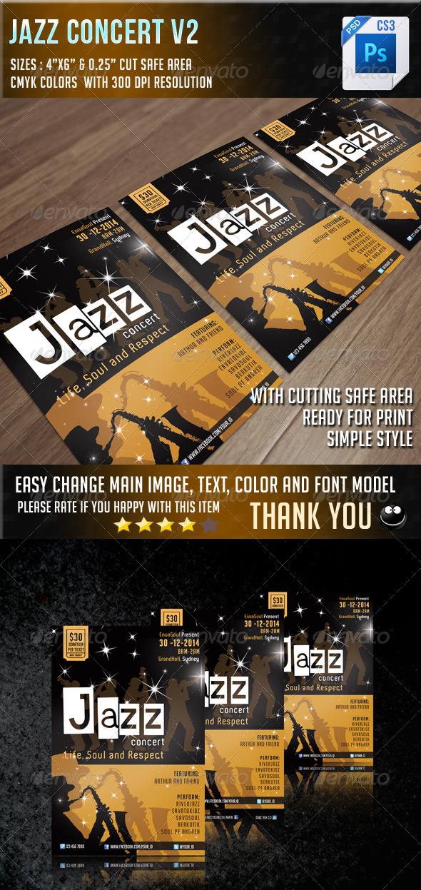 GraphicRiver Jazz Concert V2 6855386