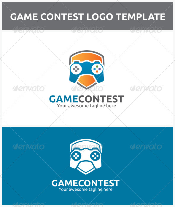 GraphicRiver Game Contest Logo 6855566