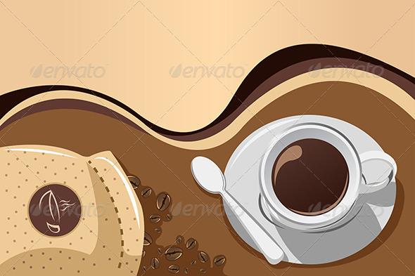 GraphicRiver Coffee Mug Background 6855631
