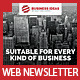 Multipurpose Business & Services Web Newsletter - GraphicRiver Item for Sale