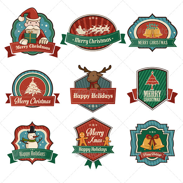 GraphicRiver Christmas Icons 6855879