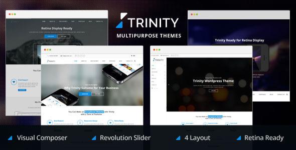 ThemeForest Trinity 4 Creative Layouts Multipurpose WP Theme 6852142