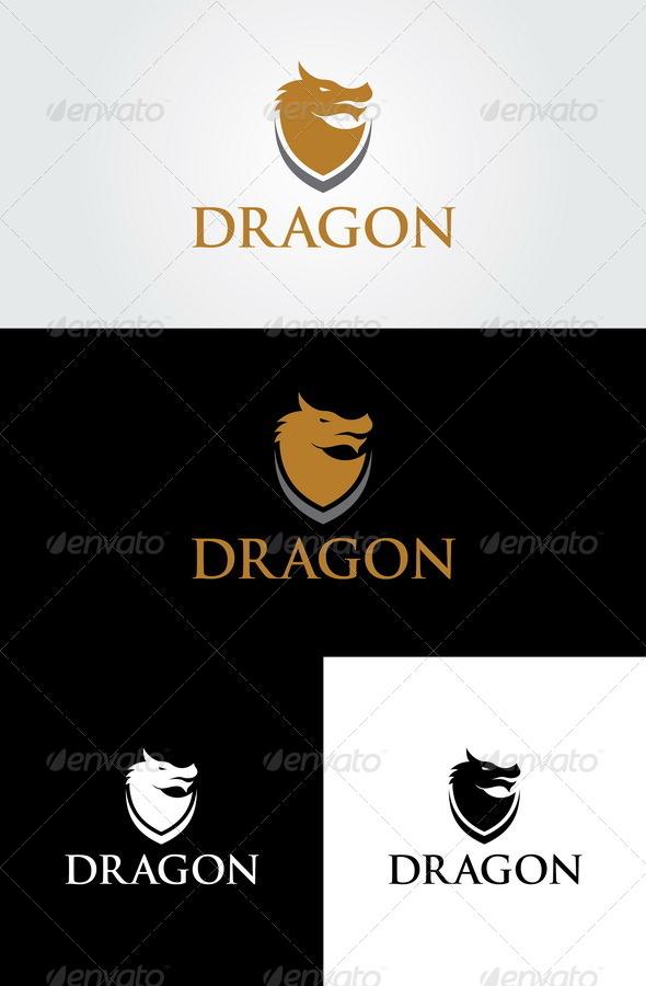 GraphicRiver Dragon Logo Template 6856474