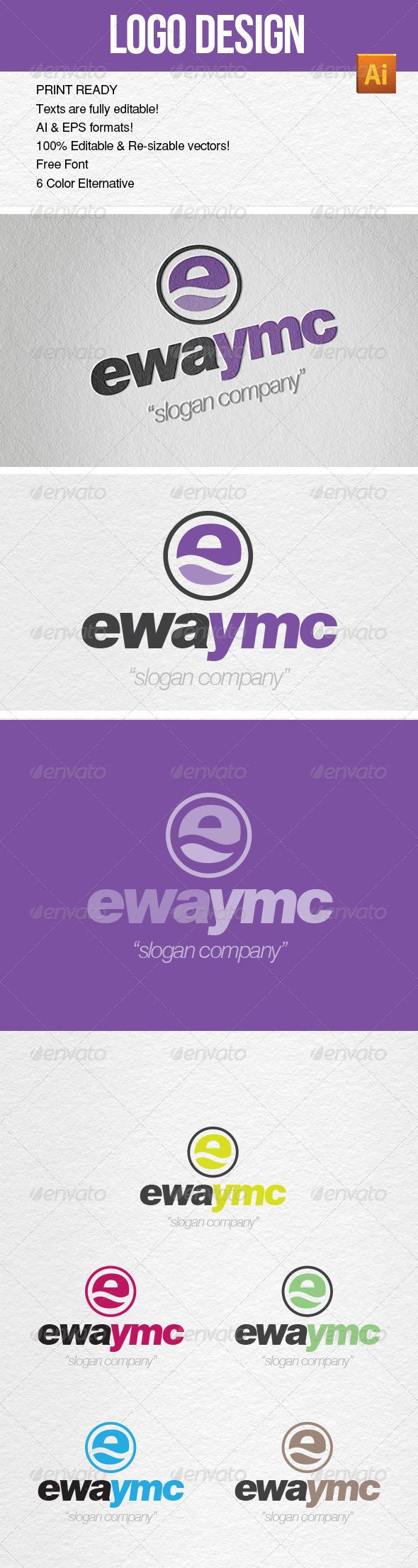 Logo Template YMC Design