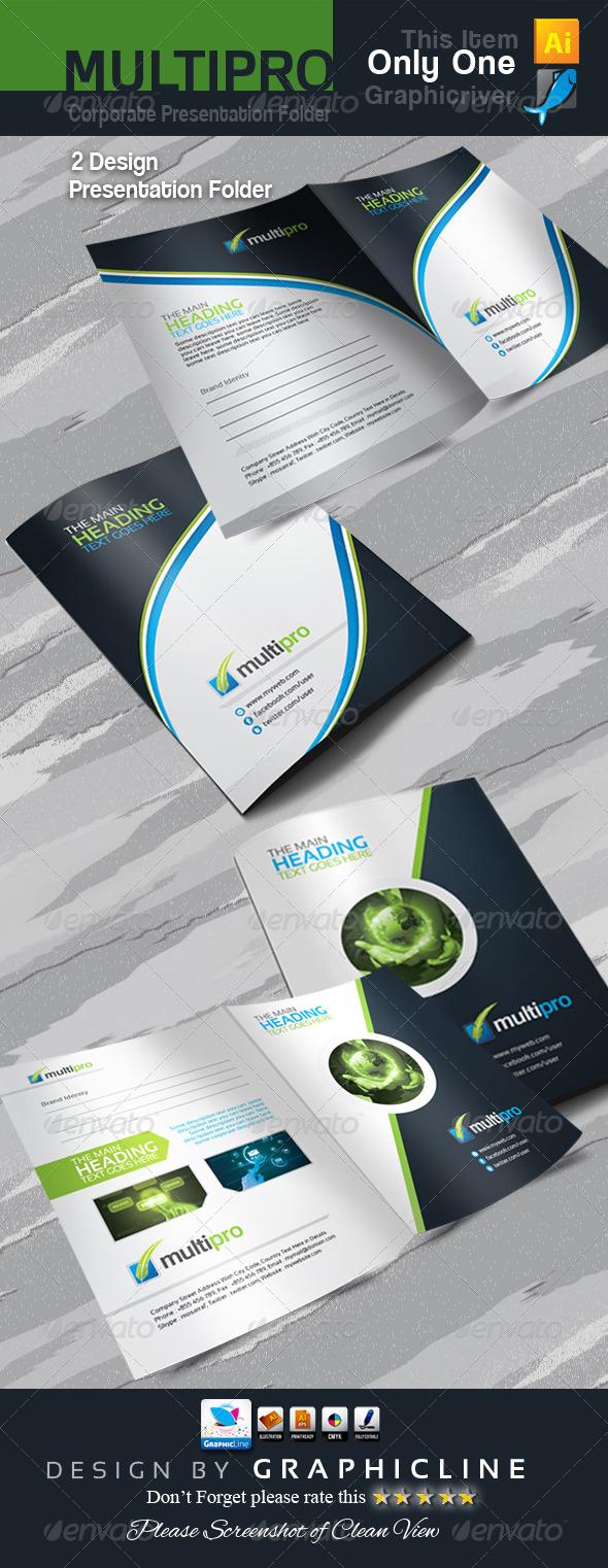 GraphicRiver Multi Pro Corporate Presentation Folder 6856557