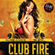 Flyer Fire Club - GraphicRiver Item for Sale